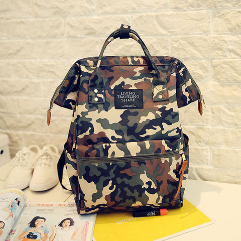 a6de8fb278 ... 2017 New Canvas Fashion Backpack Women School Bag Teenage Girls Cute  Bookbag Vintage Laptop Backpacks for ...