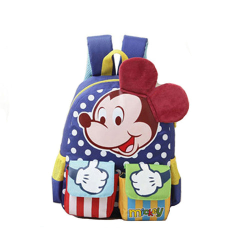 1eef36581fbb 2017 New Children School Bags Cartoon Minnie Bag Mickey Backpacks  Kindergarten Boy Backpack Kids School bag