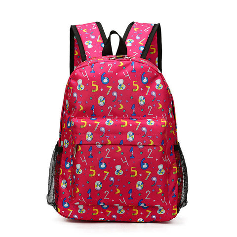 f14039b670 2017 New Cute Children Backpacks Printing Waterproof Kids Backpacks 1-3  Grade Boys Girls School
