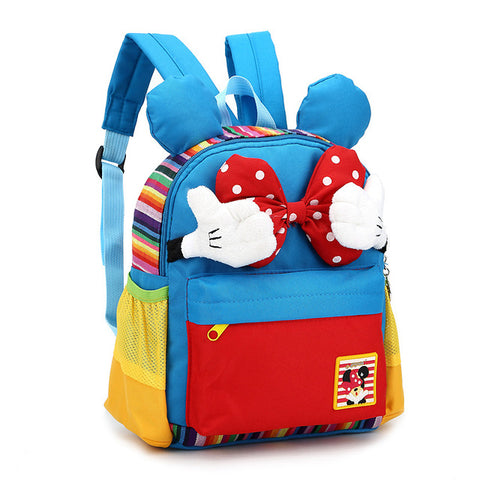 fbf4e44943 2018 Age 1-3 Toddler Backpack Cartoon Mickey Kids School Backpack Children  School Bags For