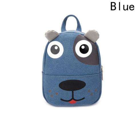 b281e342fe24 2018 Cute Kid Kindergarten Schoolbags Toddler Animal Design Backpack 3D  Cartoon Dog Kindergarten Schoolbags Children Backpacks