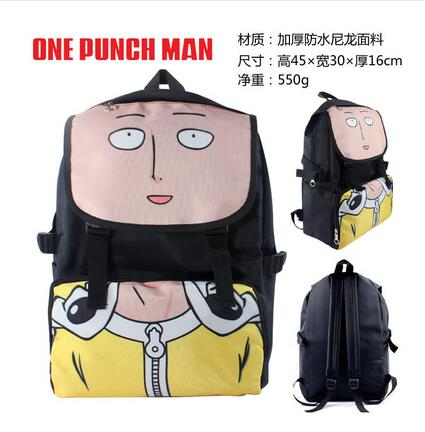 2018 High Q Japanese style Anime ONE PUNCH-MAN Backpack unisex Students BACKPACK computer BAG Shop1168061 Store 1