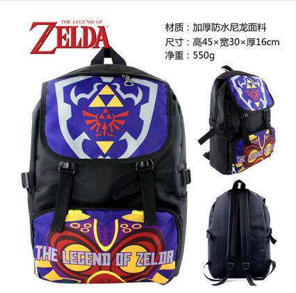 2018 High Q Japanese style Anime zelda Backpack unisex Students BACKPACK computer BAG Shop1168061 Store 1