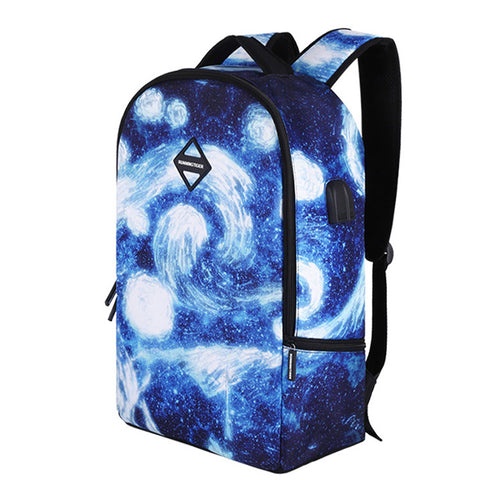 2018 New School Bag Fashion SUB Multifunctional Headphone Backpack School  Bags For Girls For Teenagers 3D 80882331c4
