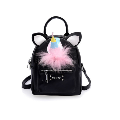 881ee75c72 2018 Women Unicorn Backpack Small School Backpacks For Teenage Girls Female  Bag Pack Sac A Main