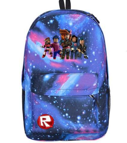 2018 many colors Roblox game backpack Men Student School Bags Kids Boys  Children teenagers travel Shoulder 92464be9f8c51