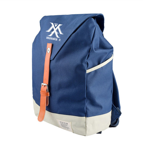 2018 new MONSTA X Han Fan fashion men and women Student Backpack and leisure backpack US and South Korea trend 1