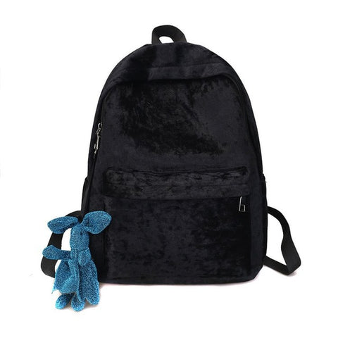 2018 new winter velvet original SuFeng student backpack backpack female bag, Japan and South Korea a undertakes Shop3893024 Store 1