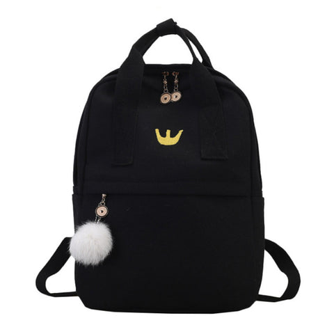 School Backpack Trendy 3157 Cute Backpacks Women Nylon Large School