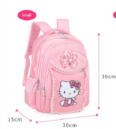 bb8f682bb442 3PCS New Girl s School Bags Cartoon Princess Cat Pussy Kitty Kid Backpack  Children School Backpack Primary