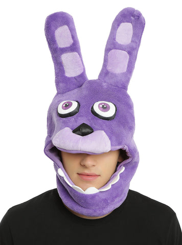 Five Nights At Freddy's Bonnie Bunny Ear Plush Costume Mask Hot Topic Exclusive  Five Nights at Freddy's Pizza 1
