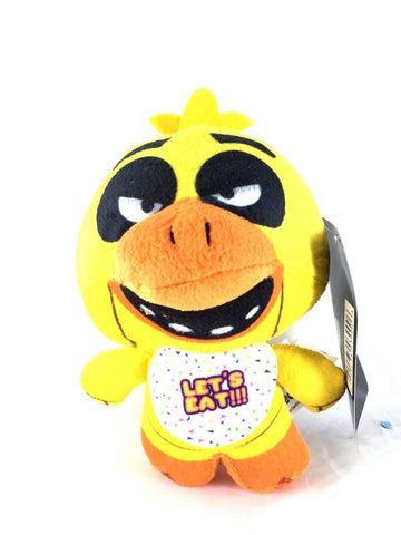 100% Authentic Licensed Five Nights at Freddy's Chica Plush 6 Inches