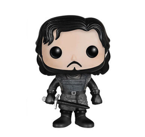 10cm New Funko Pop! Game of Thrones Jon Snow Castle Black Vinly Figure #26 Funko 1