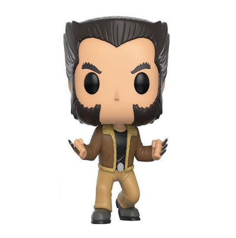 10cm New Funko Pop! Marvel Avengers Wolverine X-men Vinly Figure #185 LOGAN Funko 1
