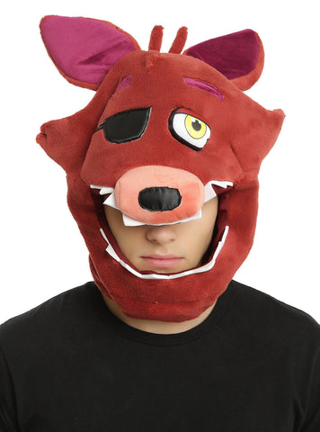 Five Nights At Freddy's Foxy Eye Patch Plush Costume Mask Hot Topic Exclusive  Five Nights at Freddy's Pizza 1