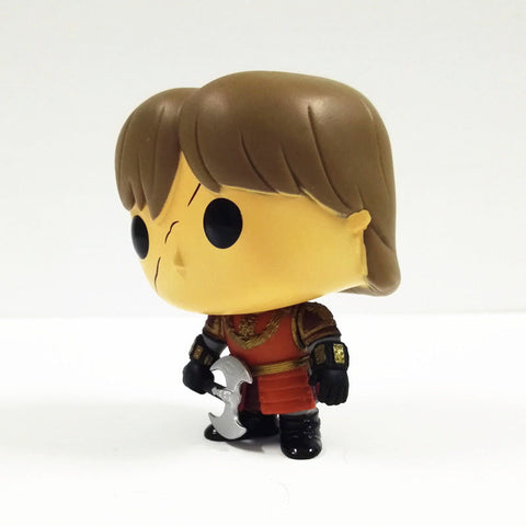 10cm New Funko Pop! Game of Thrones Tyrion Lannister Battle Axe Vinly Figure #21 Funko 4