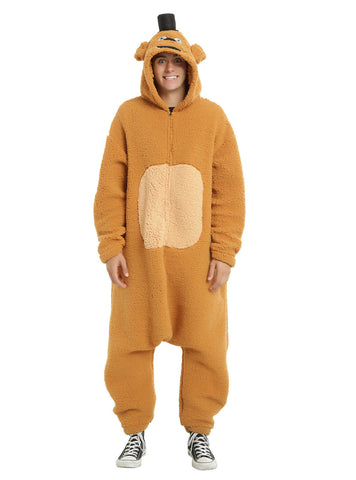 Five Nights At Freddy's Kigurumi Union Suit Adult Cosplay Hood Pajamas Costume  Five Nights at Freddy's Pizza