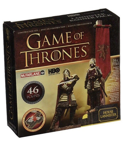 Game of Thrones & Lannister Banner Mini Statue Set Loot Crate 1