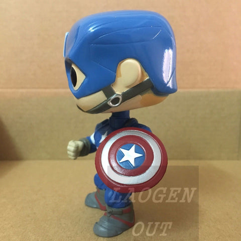 10cm New Funko Pop! Avengers Age Of Ultron Vinly Bobblehead #67 Captain America Funko 6