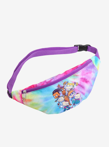 89081c1e7b Nickelodeon Rugrats Retro Tie Dyed Fanny Pack ADULT Purple adjustable strap  NWT Nickelodeon 1