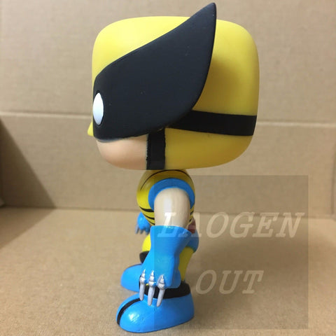 10cm New Funko Pop! Marvel Avengers #05 Wolverine X-men LOGAN Anime Vinly Figure Funko 6