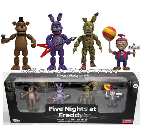 Funko Five Nights At Freddy's 4 Pack Collectible Vinyl Figure Set #2 New in Box FUNKO/Hot Topic 1