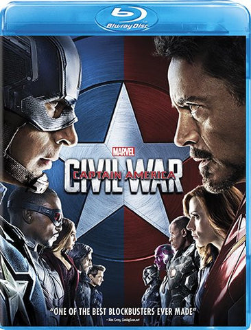 Officially Licensed Marvel's Captain America: Civil War [Blu-ray] - Animetee