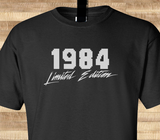 Trendy Pop Culture Legend since Limited Edition 1984 25 26 27 28 29 30  years old birthday  Tee T-Shirt Ladies Youth Adult - Animetee - 1