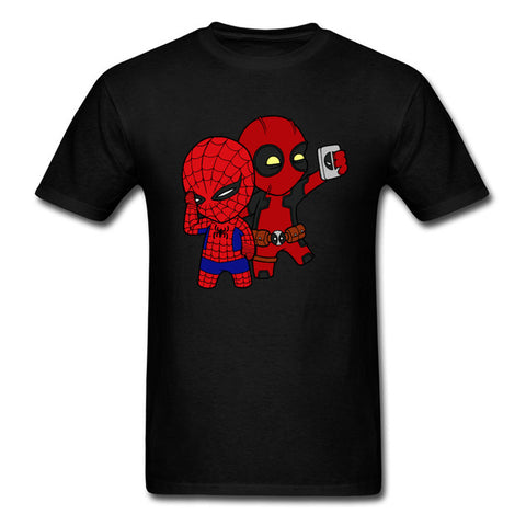 90s Cartoon Deadpool T Shirt Men Marvel Men's Funny Cute Graphic Tshirt Bleach Anime Cosplay Tee Shirts For Student Best Gift Bestshirt Store 1
