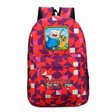 Adventure Time Finn and Jake backpack Boy Girl for teenagers Student School Bags travel Shoulder Bag Laptop Bags bookbag Shop2788211 Store 19