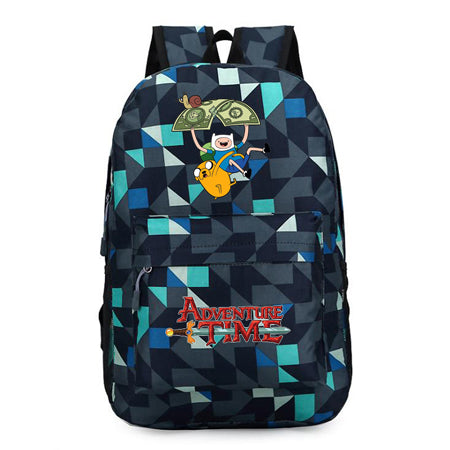 Adventure Time Finn and Jake backpack Boy Girl for teenagers Student School Bags travel Shoulder Bag Laptop Bags bookbag Shop2788211 Store 1