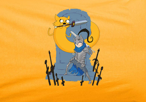 Game of Thrones Adventure Time Jake and Fin Armor tee t-shirt - Animetee - 1