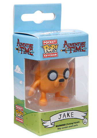 Officially Licensed Funko Adventure Time Pocket Pop! Jake Key Chain - Animetee