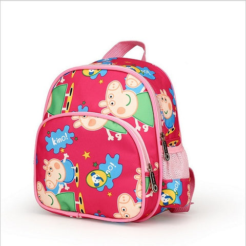 05718921037f Aged 1-3-5 Toddler pink pig Kindergarten Backpack Kids Baby School Bags  Girls