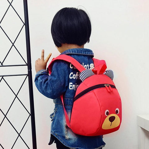 ... Aged 1-3 Toddler backpack Anti-lost kids baby bag cute animal Bear  children b3e46a27c5a35