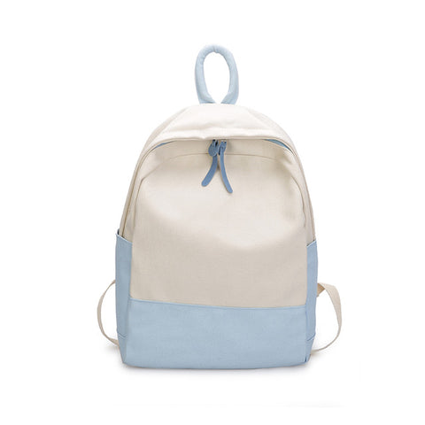 d20d2e5e88 Amarte canvas backpack female school bag women s backpacks for adolescent  girls casual backpacks two colors patchwork