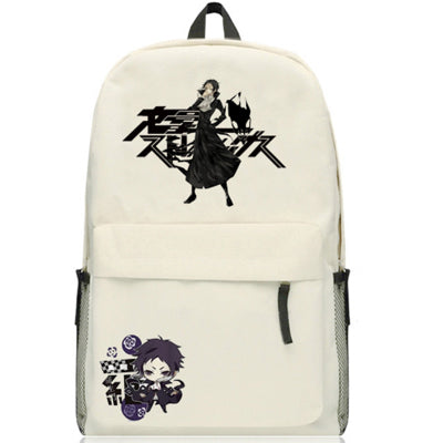 Anime Bungo Stray Dogs Osamu Dazai Backpack Cartoon Bags Oxford Student School Bag Unisex Anime Costumes Store 1