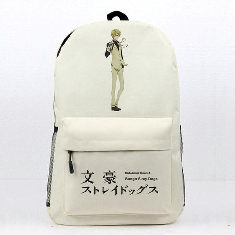 Anime Bungo Stray Dogs School Book Bag Daily Backpack Atsushi Nakajima Osamu Dazai Printing Travel Knapsack Students Laptop Bag Shop3126025 Store 10