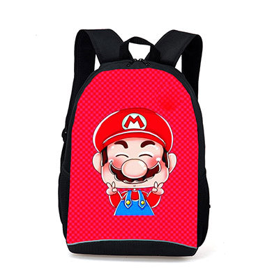 Anime Character Mario Sonic Printing Backpacks for Teenager Girls Boys School Bags Super Funny Toddlers School Backpack Kids Bag Jinhui design Store 10
