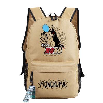 Anime Danganronpa Cosplay 2017 New Student Backpack Men & Women Backpack Travel Simple Canvas Bag Hangzhou Manxia Backpack Store 2