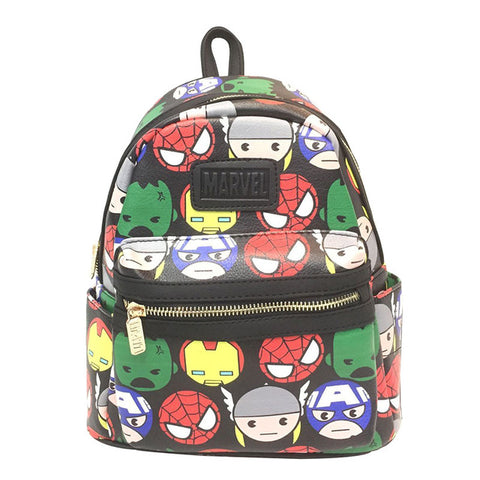 cdbca9e41c20 ... Anime Deadpool Leather Backpack Cartoon Hero Batman Wonder Woman Marvel  DC Star Wars Rick and Morty ...