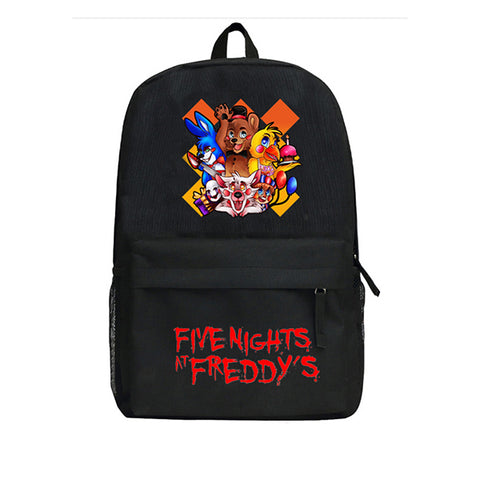 Anime Five Nights at Freddy's Backpack Kids School Bag Boys Girls FNAF Kindergarten Bag Children Backpack Shop3126025 Store 1