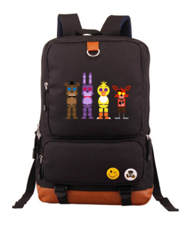 Anime Five Nights at Freddy's Knapsack Leisure Laptop bag men and women Travel Bags Teenagers Student's Backpack ANIME FANS COSTUME Store 1