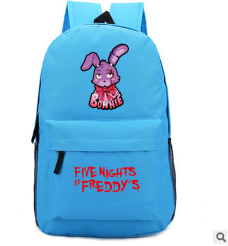 Anime Five Nights at Freddy's Knapsack Teenagers Student's Backpack Boys Girls New Laptop Bag Travel Backpack ANIME FANS COSTUME Store 1