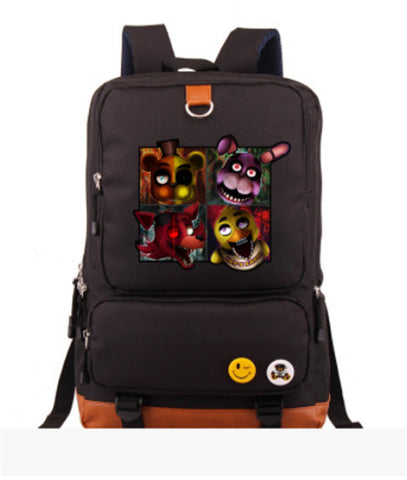 Anime Five Nights at Freddy's Knapsack Travel Bags Teenagers Student's Backpack men and women Leisure Laptop Bag ANIME FANS COSTUME Store 1