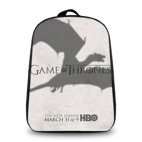 Anime Game of Thrones Daily Backpack For Teenagers Boys Girls School Bags Women Men Travel Bag Children School Small Backpacks YiZu Fashion Store 1