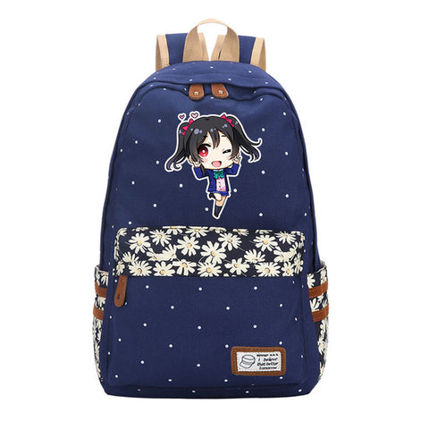 Anime Love Live Girl Backpack Girls School Bags Laptop Backpacks Cartoon Lovelive Backpack Students Children Shoulder Rucksack suuman Store 10