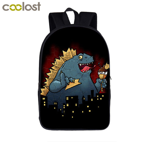 Anime Movie Groot / Porgs / Caesar Backpack for Teens Boys Girls Children School Bags Cartoon Animal Pugs Kids Bookbag Best Gift COOLOST Featured Store 1