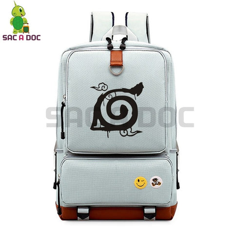 df7c02885c3 Anime Naruto Canvas Backpack Naruto Rikudo Sennin Cospaly Travel Rucksack  for Teenage Boys Girls School Bags