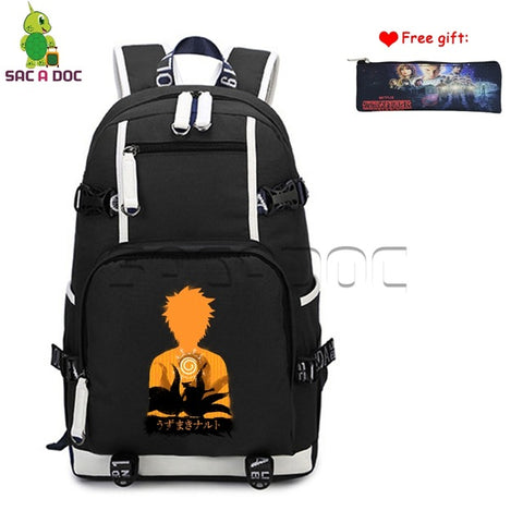 Anime Naruto Canvas Backpack Naruto Sennin Womens Mens Daily Backpack Boys Girls School Laptop Bags Travel Rucksack Case Gift Shop3126025 Store 1